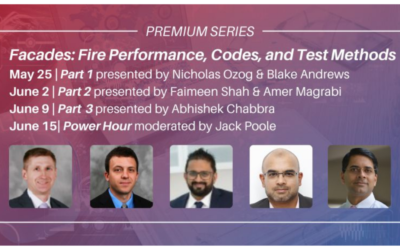 SFPE Live Premium Webinar Series: Facades